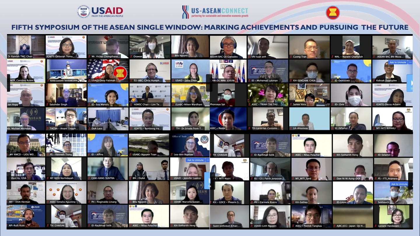 Fifth Symposium on the ASEAN Single Window: Marking Achievements and Pursuing Progress for the Future