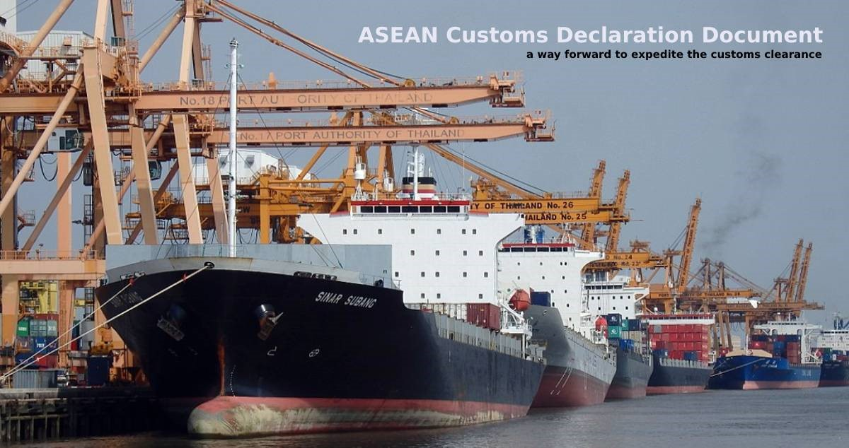 Malaysia and Thailand start exchanging the ASEAN Customs Declaration Document (ACDD)